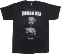 T-Shirt Toxico No God But Satan