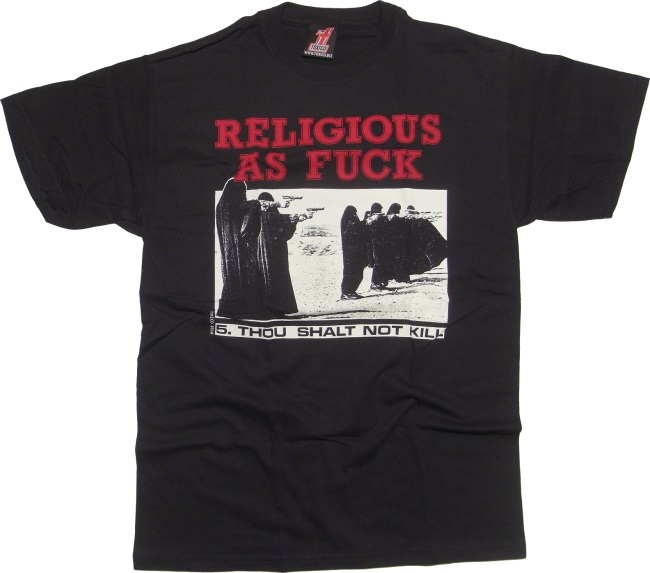 T-Shirt Toxico Religious As Fuck