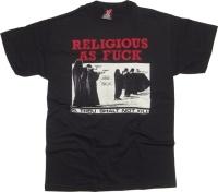 T-Shirt Toxico Religious As Fuck