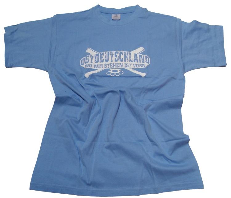 T-Shirt Ostdeutschland Wo wir stehen...