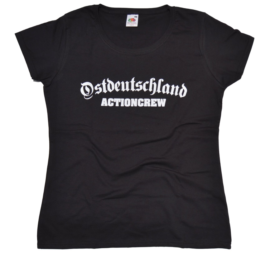 Girl-Shirt Ostdeutschland Actioncrew