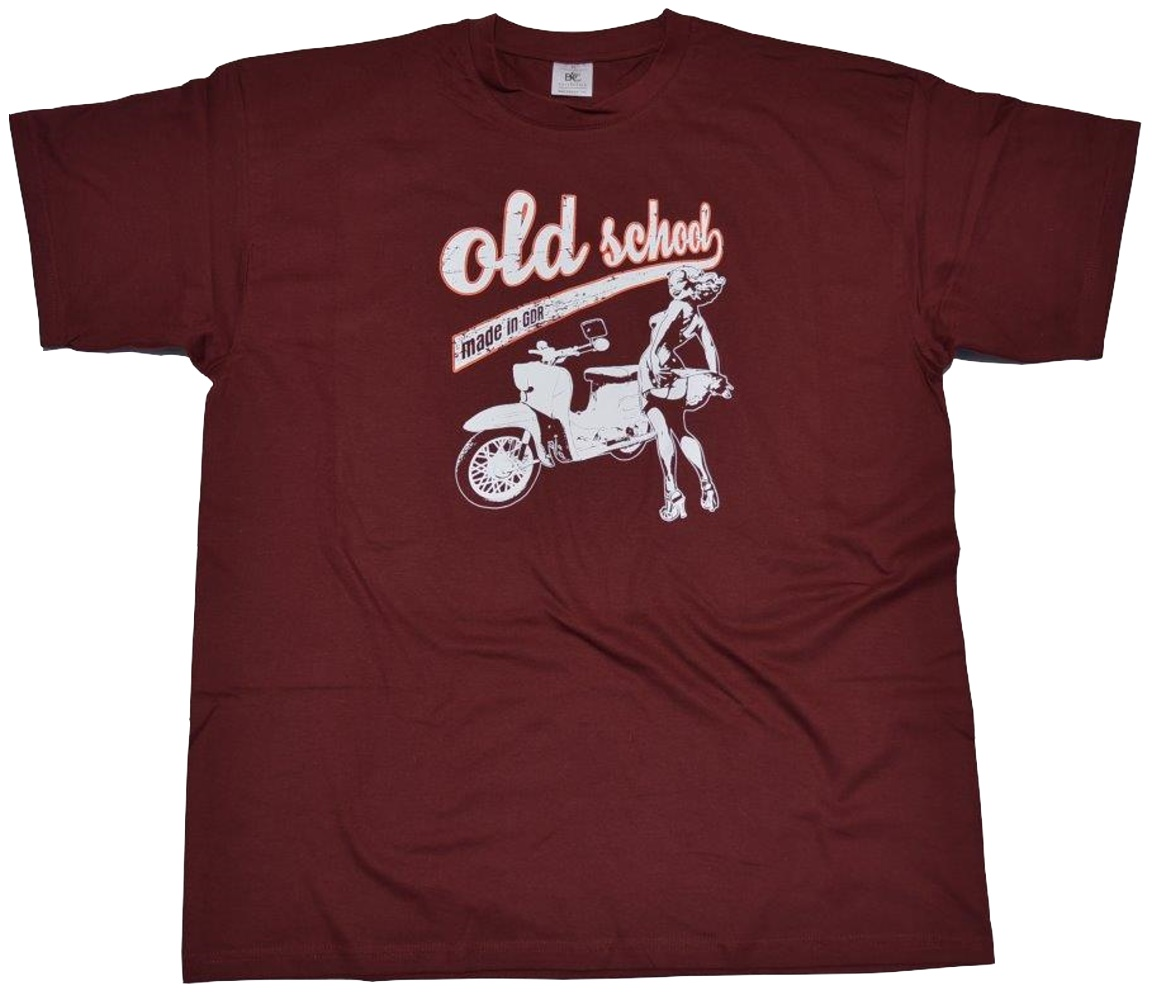 T-Shirt Old School made in GDR