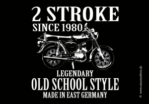 Aufkleber Old School Style