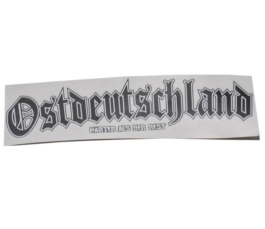 Aufkleber Ostdeutschland Härter als der Rest