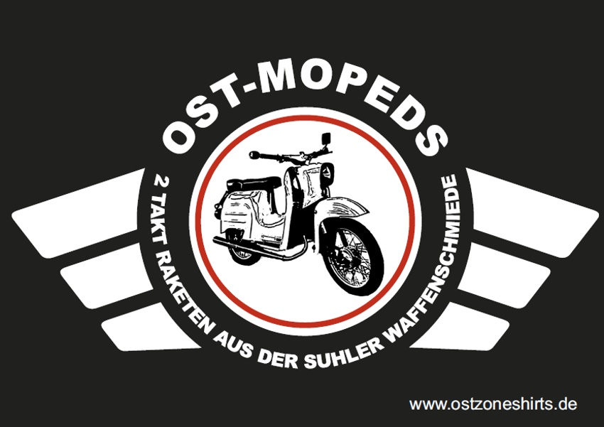 Aufkleber Ost-Mopeds 10er Pack