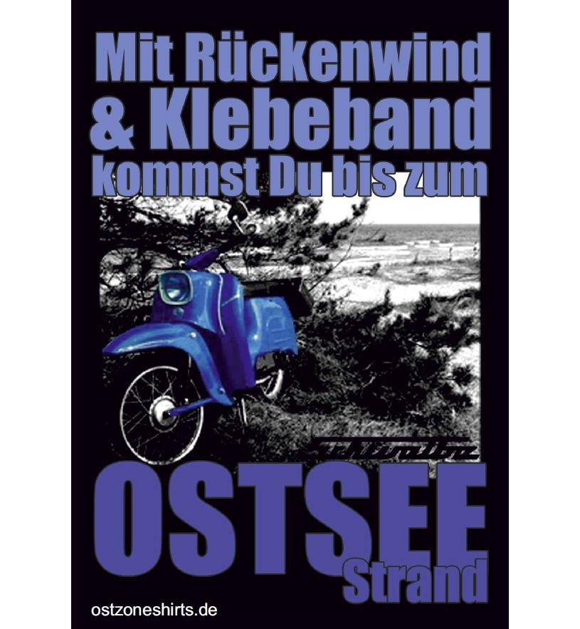 Aufkleber Ostseestrand Schwalbe 10er Pack