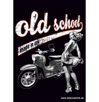 Aufkleber Old School 10er Pack
