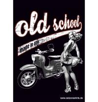 Aufkleber Old School - Schwalbe