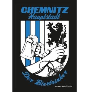 Aufkleber Chemnitz Hauptstadt der Biertrinker