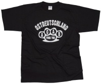 T-Shirt Ostdeutschland ACAB Knuckle