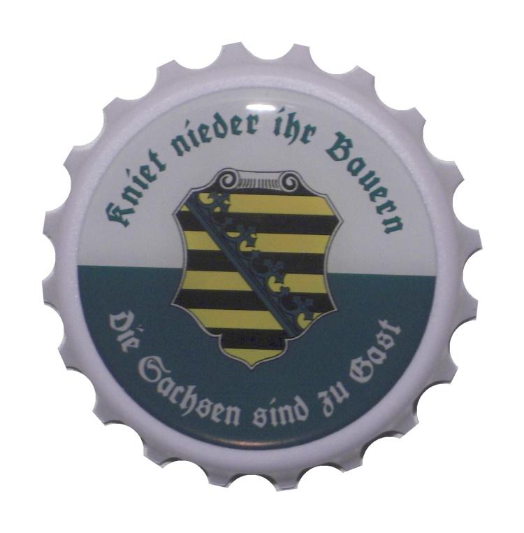 Kapselheber Flaschenöffner Kniet nieder Ihr Bauern
