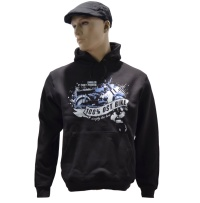Kapuzensweatshirt 100% Ost Bike simply the best G526