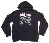Kapuzensweatshirt Old School made in GDR G516