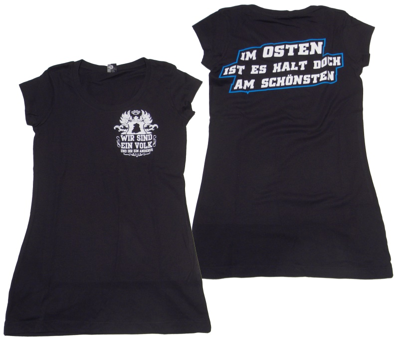 Girl Shirt Ostdeutschland Ein Volk 3