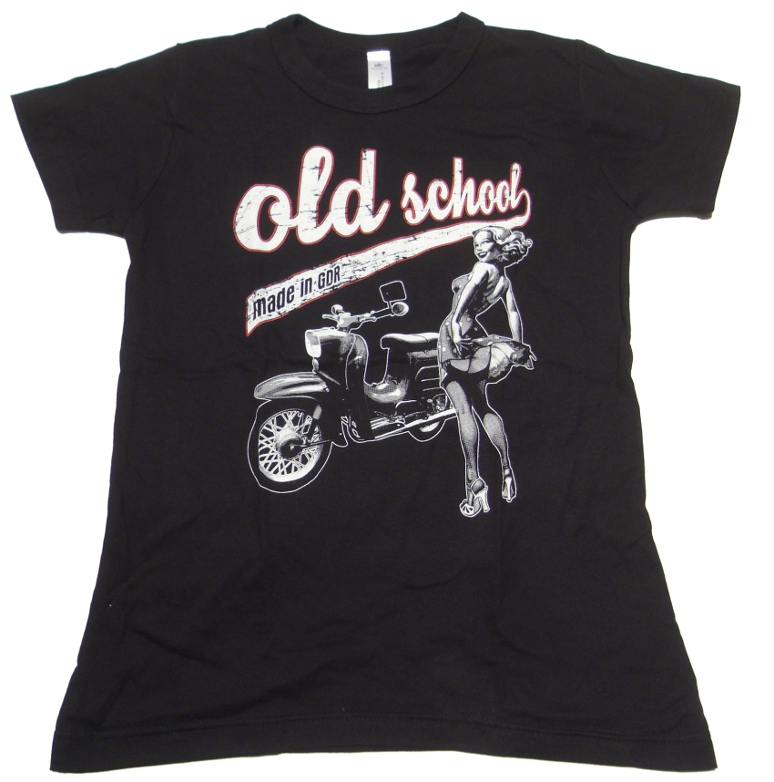 Girl Shirt Old School made in GDR