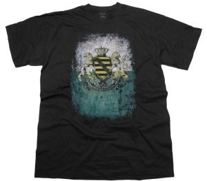 T-Shirt Sachsen Wappen