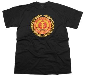 T-Shirt DDR Emblem Wappen