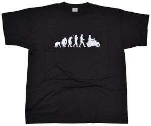 T-Shirt Evolution mit Simson Schwalbe Motiv G30
