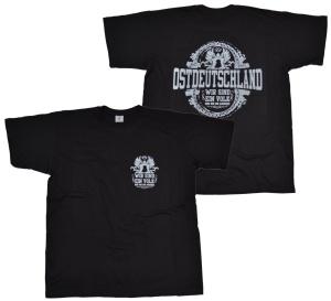 T-Shirt Ostdeutschland Wir sind ein Volk G543 groß und klein