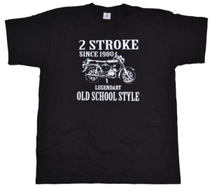 T-Shirt 2 Stroke Old school Style S51 G517