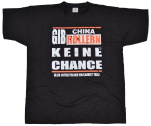 T-Shirt Anti China Roller groß G528
