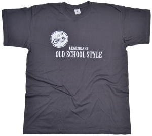 T-Shirt Legendary Old School Style Star K28 G517