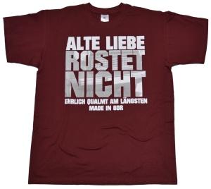 T-Shirt Alte Liebe Rostet nicht mit Trabimotiv G301