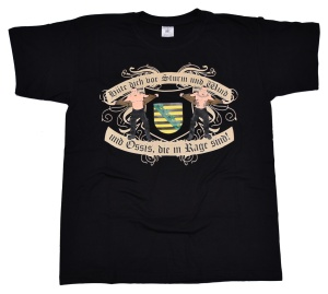 T-Shirt Ossis in Rage Sachsen II Hüte Dich vor Sturm und Win G552