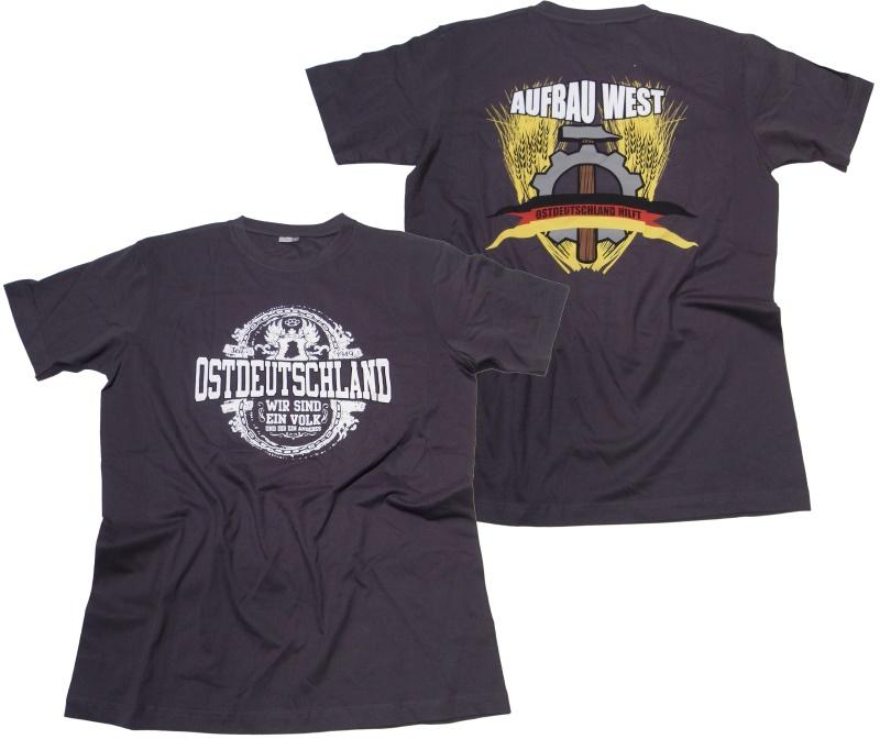 T-Shirt Aufbau West II