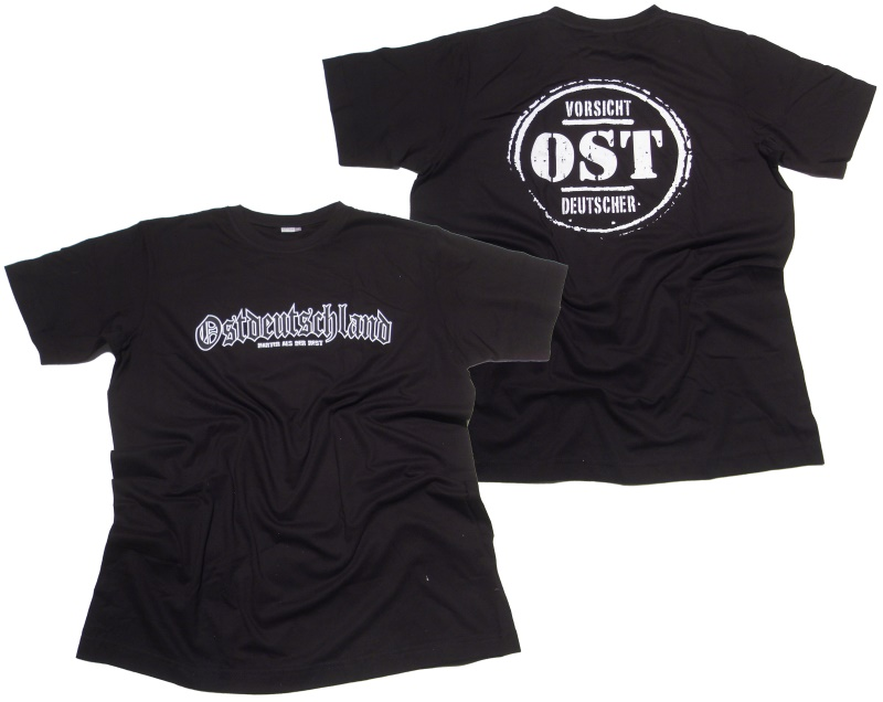 T-Shirt Vorsicht Ost Deutscher