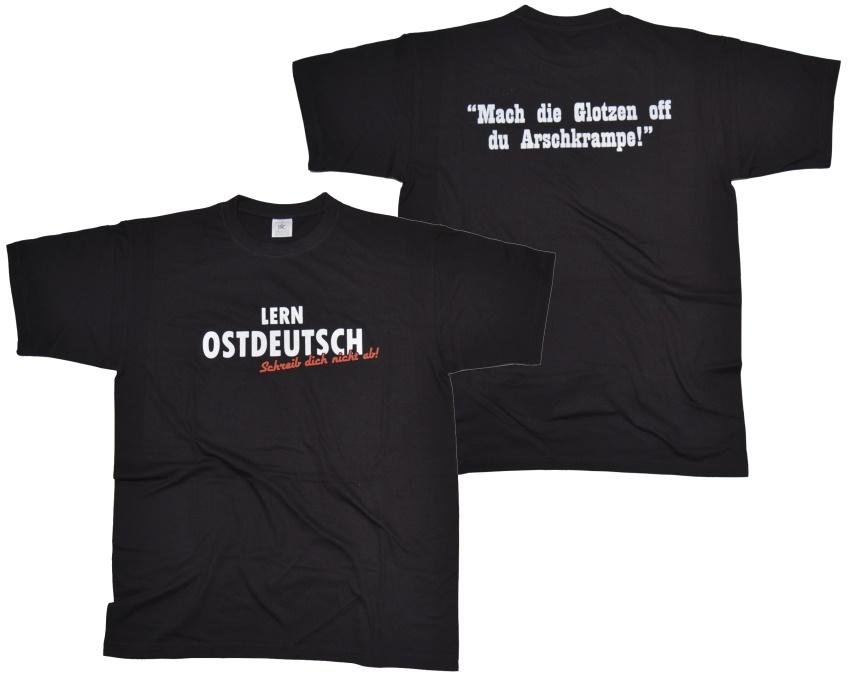 T-Shirt Lern Ostdeutsch