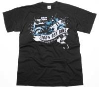 T-Shirt 100% Ost Bike Simply the best G526