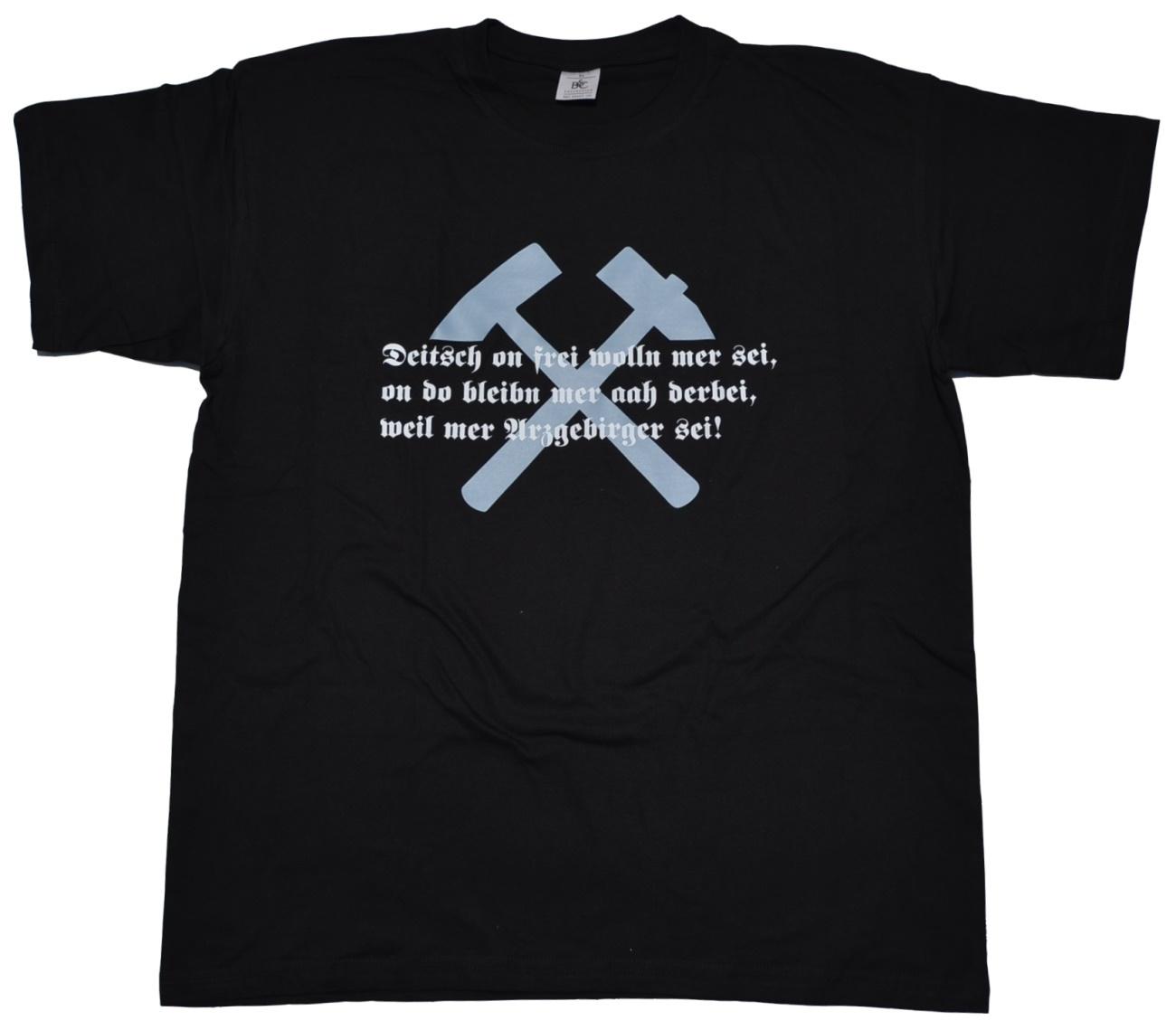 T-Shirt Deutsch und frei