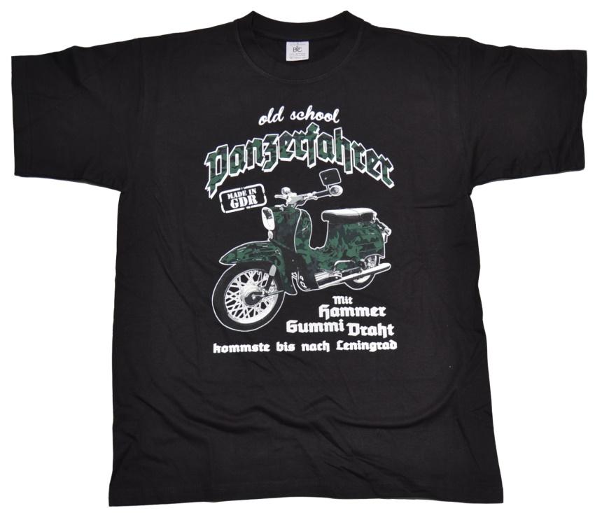 T-Shirt Panzerfahrer Schwalbe extrem