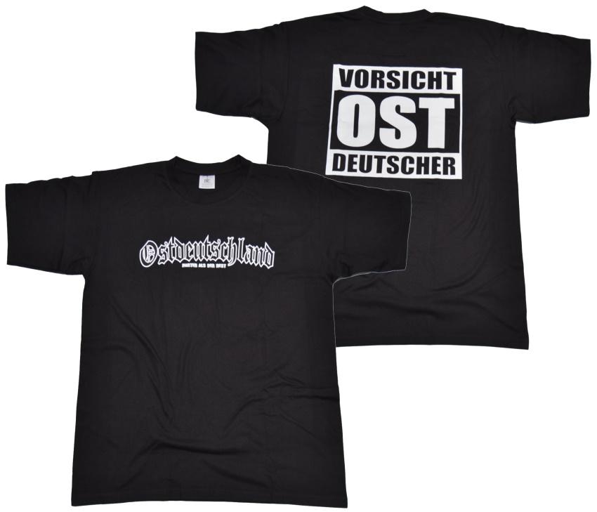 T-Shirt Vorsicht Ost Deutscher II
