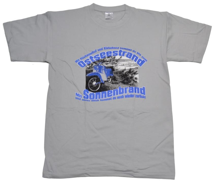 T-Shirt Ostseestrand Schwalbe on Tour