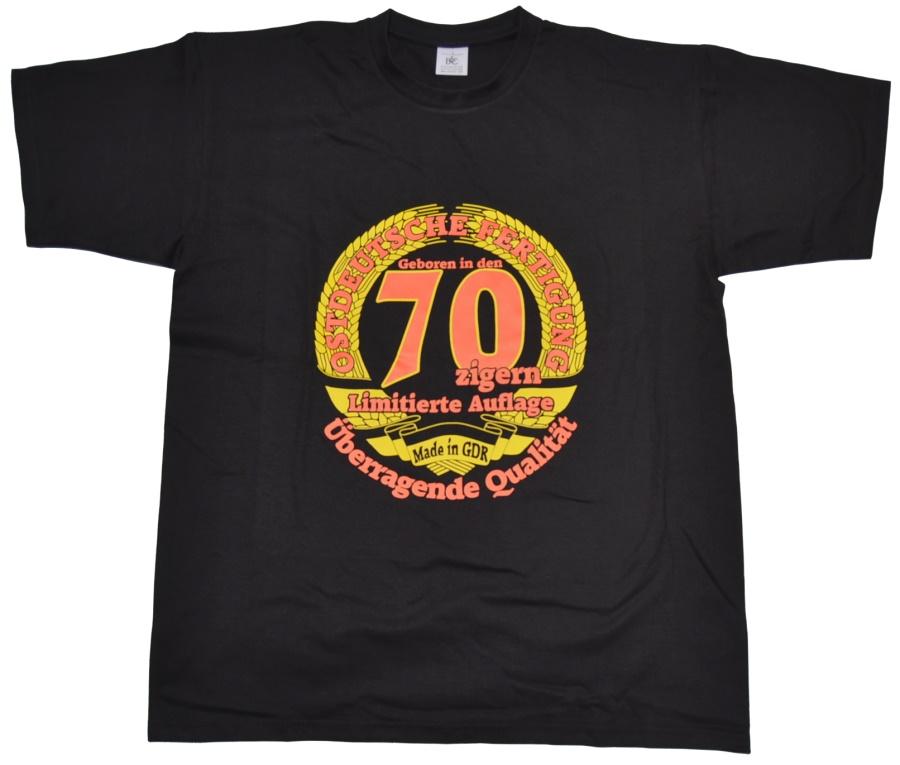 T-Shirt Ostdeutsche Fertigung