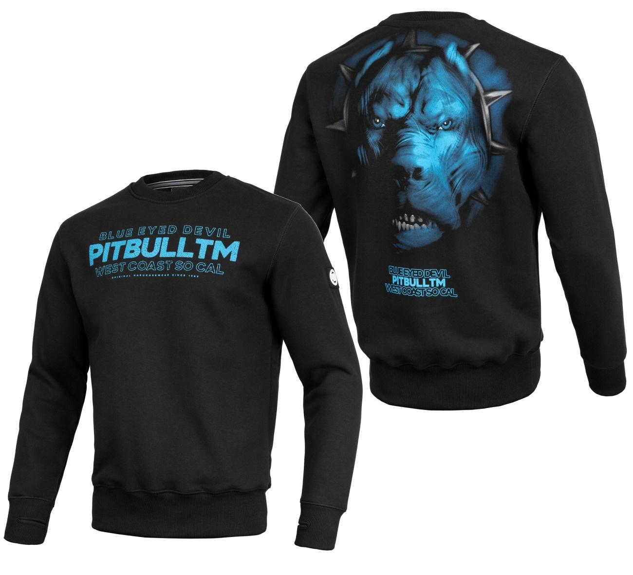 Pit Bull West Coast Sweatshirt Blue Eyed Devil V