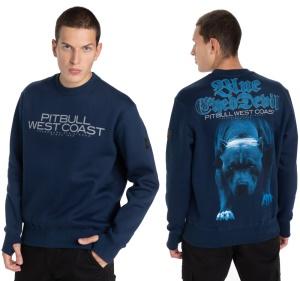 Pit Bull West Coast Sweatshirt Blue Eyed Devil B.E.D. 21