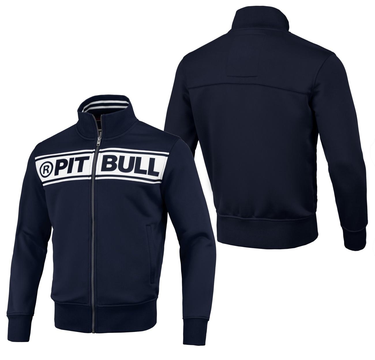 Pit Bull West Coast Sweatjacke Chest Logo