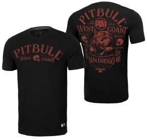 Pit Bull West Coast T-Shirt San Diego 89