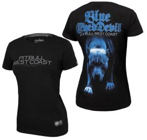 Pit Bull West Coast Damen T-Shirt Blue Eyed Devil