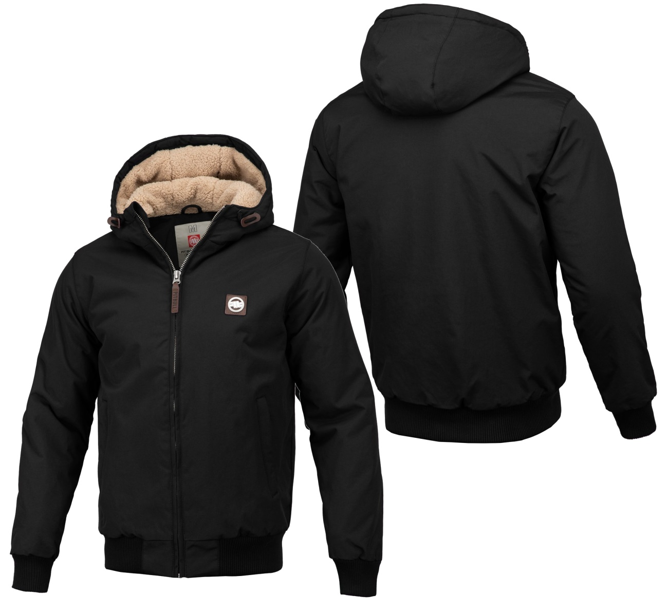 Pit Bull West Coast Sherpa Hooded Jacket Elkwood 3