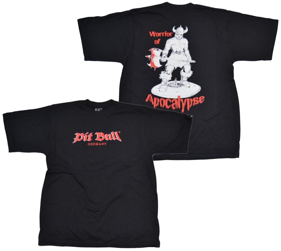 Pit Bull T-Shirt Warrior of Apocalypse