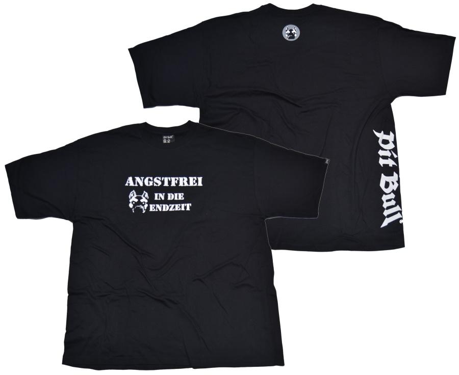 Pit Bull T-Shirt Angstfrei in die Endzeit