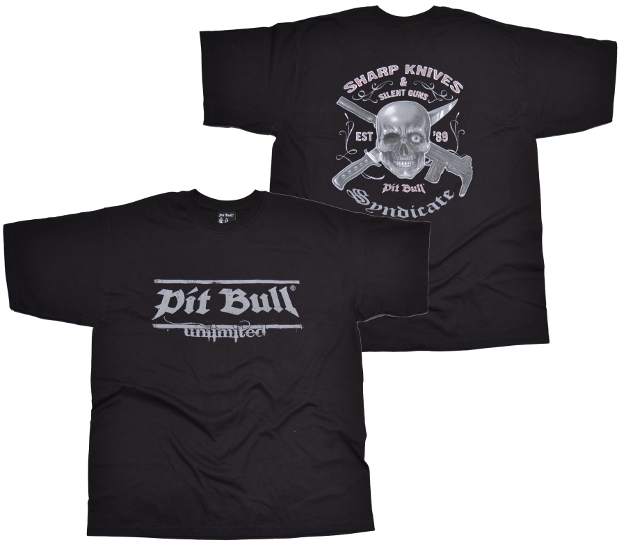 Pit Bull T-Shirt Sharp Knives