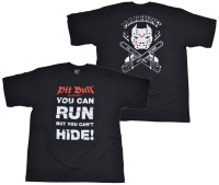 Pit Bull T-Shirt You Can Run