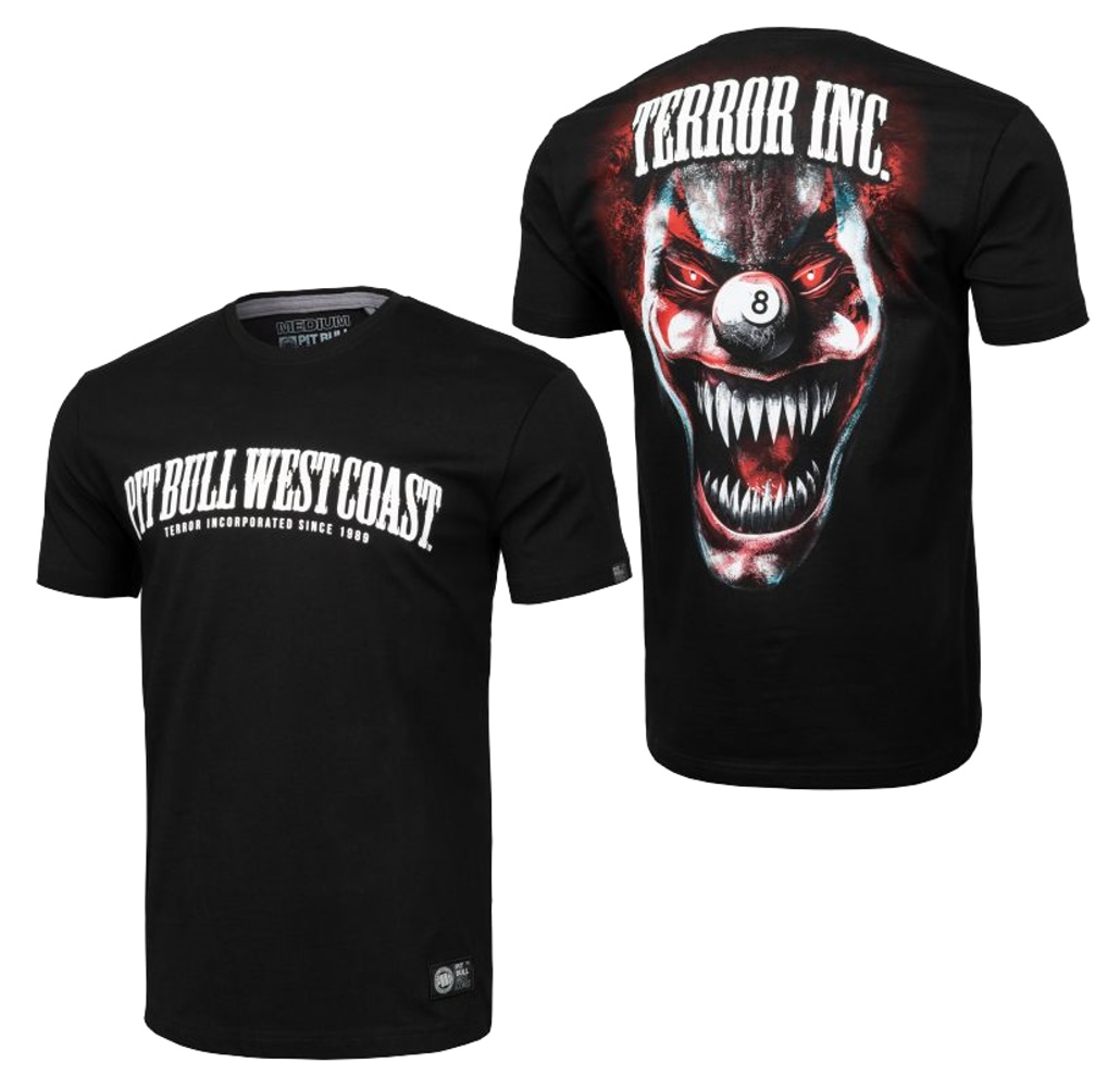 Pit Bull West Coast T-Shirt Terror Clown