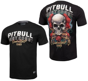 Pit Bull West Coast T-Shirt Santa Muerte