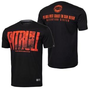 Pit Bull West Coast T-Shirt Orange Dog
